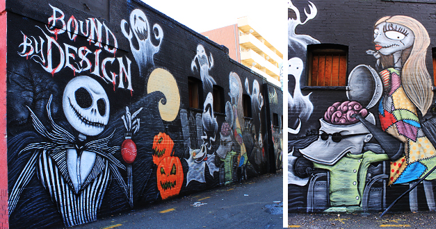 Attractive Mural: Bound By Design. Nightmare Before Christmas ... Part 30