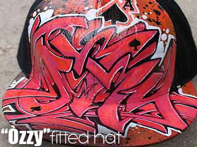 Custom Graffiti Fitted Hats